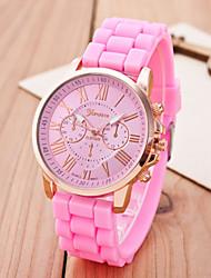 Женские Нарядные часы Модные часы Наручные часы Цветной Кварцевый сплав Группа С подвесками Повседневная Разноцветный