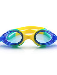 FEIUPE®Adjustable Size, Waterproof, Anti-Fog for Kids Light Blue/Blue/Peach/Light Green Swimming Goggles