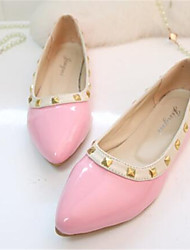 Women's Shoes Flat Heel Pointed Toe Flats Dress Black / Pink / White
