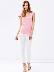 Women's Fashion Slim Unique Hollow Halter T-Shirt