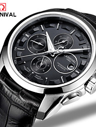 Carnival® Watches Mens Multi Function Automatic Mechanical Watch Movement's Domineering Luminous Watch Cool Watch Unique Watch
