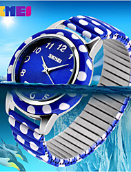 SKMEI® Lady's Stainless Steel  Band Japanese Quartz 30M Water Resistant Fashion Watch Cool Watches Unique Watches