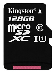 Kingston 128GB Class 10 MicroSD/MicroSDHC/MicroSDXC/TFMax Read Speed10 (MB/S)Max Write Speed10 (MB/S)
