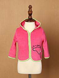 Girl's Blue / Red Jacket & Coat,Print Cotton Summer / Spring