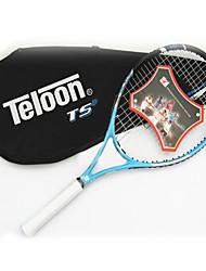 Las raquetas de tenis ( Amarillo / Rojo / Rosado / Negro / Azul , Aleación de aluminio y carbono ) -Impermeable / No deformable /
