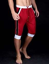 Men's Shorts,Casual Pure Polyester
