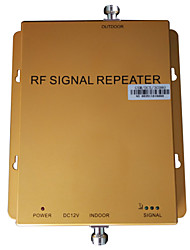 Tri Band Signal Booster GSM 900MHz DCS 1800MHz WCDMA 2100MHz Three Networks Mobile Phone Booster Coverage 1000m2