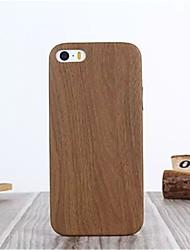 bois mince cuir PU cuir souple matériel pour iphone 5 / 5s