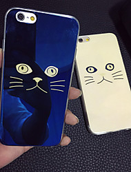 147 iPhone 5 Case Case Cover Plating Back Cover Case Cat Soft TPU for iPhone SE/5s iPhone 5