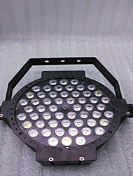 Reallink ® RGBW DMX 54 Led Business Stage Lights Flat Par High Power Light Professional for Party KTV Disco DJ EU