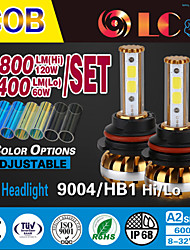 liancheng® 60w 6400lm 9 ~ 32V hohe Helligkeit cob LED-Scheinwerfer-Kit-9004 / HB1 für Auto, Off-Road, utv, atv