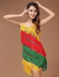 Vestidos ( Multicolor , Poliéster , Danza Latina ) - Danza Latina - para Mujer