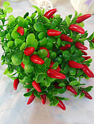 High Quality Pepper Flowers Silk Flower Silk Flower Artificial Flowers for Home Decoration 1pc/set