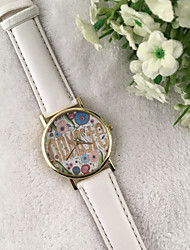 Fashion Indian Style Namaste Floral Printing Bracelet Wristwatches Quartz Dress Watches Women's Watch Cool Watches Unique Watches