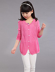 Paragraphs Spring Girl Hollow Out Thin Solid Color Is Prevented Bask In Ice Silk Cardigan