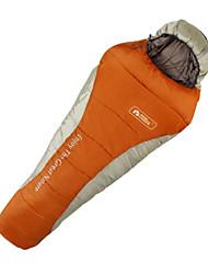 Saco de dormir Tipo Múmia Solteiro (L150 cm x C200 cm) -5℃ Algodão 300g 225X80 Viajar Prova de Água Mobi Garden