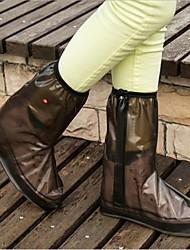 Gummi - Alle Schuhe - Schuh Abdeckungen ( Braun / Weiß / Fuchsia )