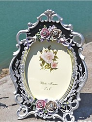 Modern European Style Pearl Polyresin Picture Frame