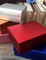12 Stück / Set Geschenke Halter-Quader Kartonpapier Geschenk Schachteln Nicht personalisiert
