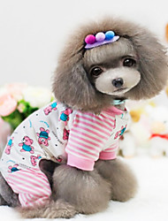 Dog Coat / Clothes/Clothing Pink Winter Fashion