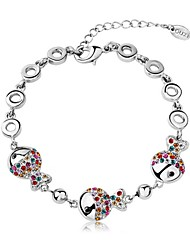 Hot New Charming Lovely Simple Bling Elegant Multicolor Fish Bracelet Bangle Party Jewelry For Women
