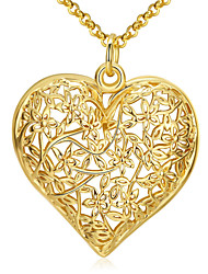Necklace Pendant Necklaces Jewelry Daily Alloy Gold 1pc Gift