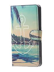 Pour Coque Nokia Portefeuille Porte Carte Avec Support Coque Coque Intégrale Coque Ancre Dur Cuir PU pour Nokia Autre