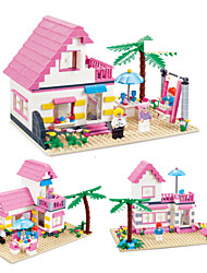 Super Large 383pc Building Blocks Set Compatible With Friends Series DIY House Model Bricks Toys for Girls