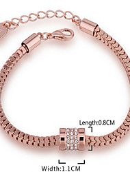 May  Polly 18K rose gold bracelet exquisite girls