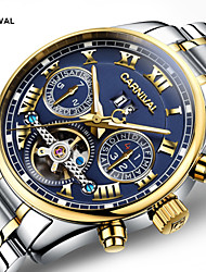 Carnival® watch hollow multifunctional automatic flywheel mechanical watch luminous men watch Cool Watch Unique Watch