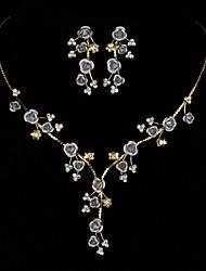 Ensemble de bijoux Multi-Stone / Zircon Zircon Femme