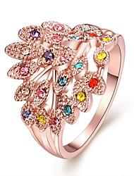 reine coloré bijou coûteux bague en diamant