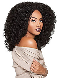 Big Beautiful Hair Synthetic Lace Front Wig 3C-WHIRLY Color #1 Jet Black