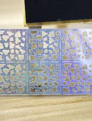 Dedo / Dedo del Pie - Abstracto - Calcomanías de Uñas 3D / Joyas de Uñas - Otros - 5 sheets - 13*7.5 - ( cm )