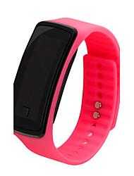 Женские Спортивные часы LCD Повседневные часы Цифровой Plastic Группа Черный Белый Синий Красный Розовый Фиолетовый