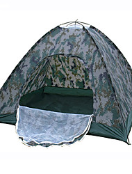 LANGYA Waterproof / Breathability Oxford / Polyester One Room Tent Camouflage