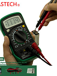 Mastech MAS830l 2000 Counts Small Handheld Digital Multimeter With Backlight And Case For Protection