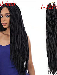 Bulk Buy Crochect Braid Hair Senegalese Twist Braid Hair