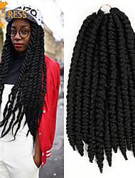 x-madeixa de cabelo tranças de cabelo afro 100% kanekalon crochet havana mambo torção trança extensão do cabelo sintético estilo de rua