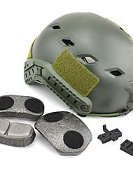 nouvelle mode vert militaire camo digtal tactique base militaire paintball airsoft rapide de style saut casque, casque militaire