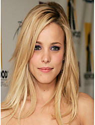 Fashion Top Quality Blonde Color Synthetic Long Straight Synthetic Wigs