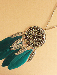 Necklace Chain Necklaces Jewelry Daily / Casual Fashion Alloy Bronze 1pc Gift