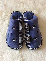 Men's Shoes Fleece Casual Slippers Casual Blue / Brown