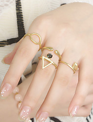 Party / Casual Alloy Band Ring