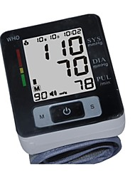 Wrist Blood Pressure Monitor Accurate Blood Pressure Readings, Detects Irregular Pulse & Heart Rates, High & Low BP.