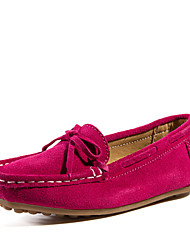 Girls' Shoes Casual Comfort Leather Loafers Yellow / Green / Red