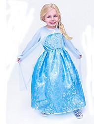 Vestido Chica de - Verano - Poliéster - Azul