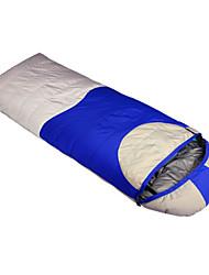 Saco de dormir Retangular Solteiro (L150 cm x C200 cm) -10℃ Penas de Pato 1500g 215X80 Campismo Mantenha Quente LANGYA
