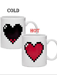 Heart-Shaped Mug Of Coffee Cup Color