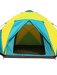 Tienda ( Verde Militar / colores surtidos , > 8 personas ) - Resistente a la lluvia / A prueba de viento